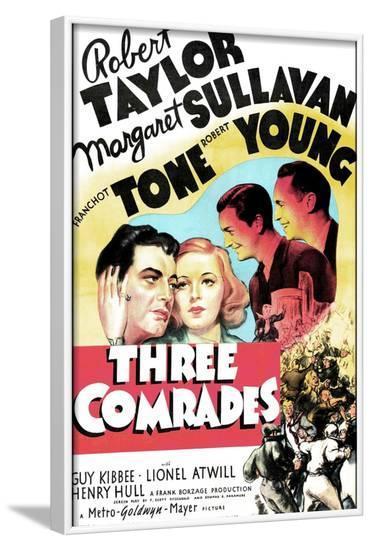 THREE COMRADES--Framed Art Print