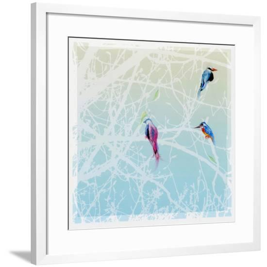 Three Little Birds, 2016,-Nancy Moniz Charalambous-Framed Giclee Print