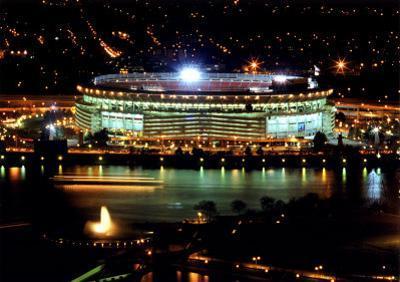 Three Rivers Stadium - Night Shot