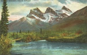 Three Sisters, Near Banff, Alberta