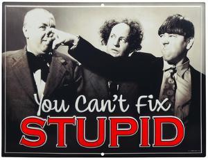 Three Stooges Can't Fix Stupid