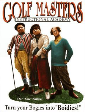 Three Stooges Golf Masters