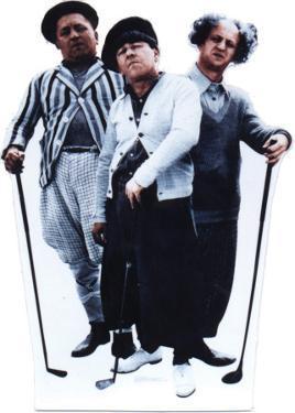 Three Stooges-Golf