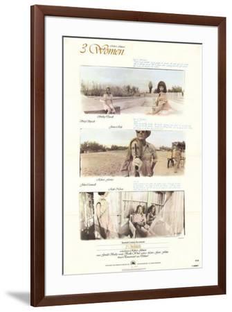 Three Women--Framed Poster