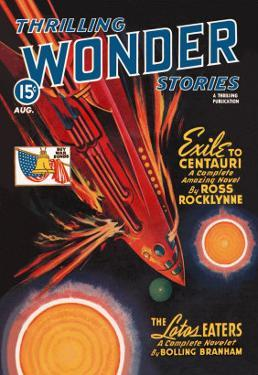 Thrilling Wonder Stories: Rocket Ship Troubles