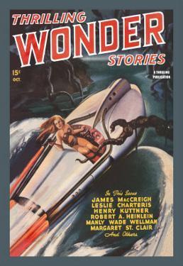 Thrilling Wonder Stories: Sheena and the X Machine