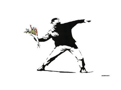 Throwing Flowers - Graffiti