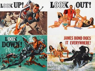 Thunderball, lobbycard, Sean Connery, 1965