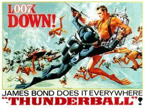 Thunderball, Sean Connery, (Poster Art), 1965
