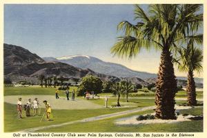 Thunderbird County Club, Palm Springs