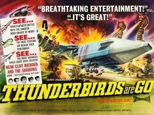 THUNDERBIRDS ARE GO, poster art, 1966