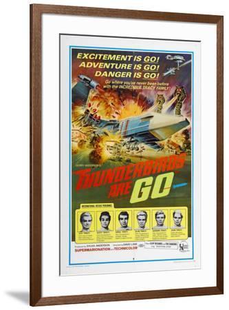 Thunderbirds Are Go--Framed Poster