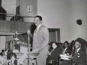 Thurgood Marshall, Speaking at Naacp Conference in Dallas March 24-26, 1950