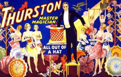Thurston, Master Magician All Out of a Hat