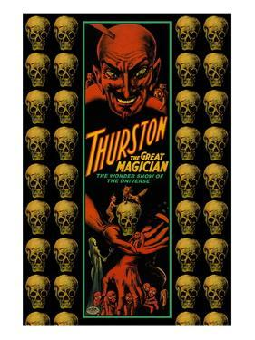 Thurston the Great Magician the Wonder Show of the Universe