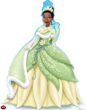 Tiana Holiday - Disney Lifesize Standup