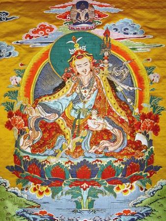 Tibetan Embroidered Scroll