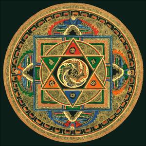 OM II by Tibetan Monk
