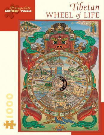 Tibetan Wheel Of Life 1000 Piece Puzzle
