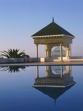 Pavilion and Pool by Tibor Bognár