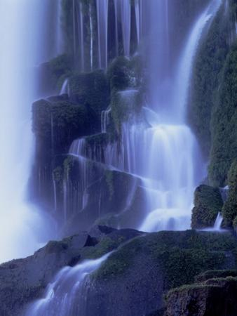 Waterfall in Iguazu National Park by Tibor Bognár