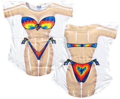 Tie Dye Bikini Cover-Up