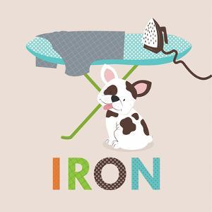 Laundry Iron by Tiffany Everett