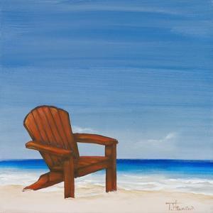 Coastal Scene III by Tiffany Hakimipour