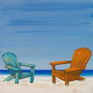 Coastal Scene IV by Tiffany Hakimipour