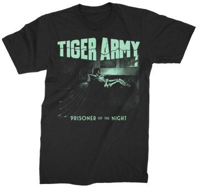 Tiger Army- Prisoner Of The Night Tee (Glow In The Dark)