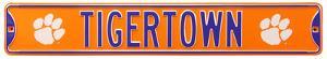 Tigertown Clemson Logo Steel Sign