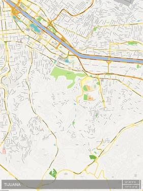 Tijuana, Mexico Map