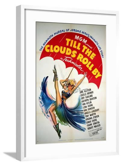 Till the Clouds Roll By, 1946, Directed by Richard Whorf--Framed Giclee Print