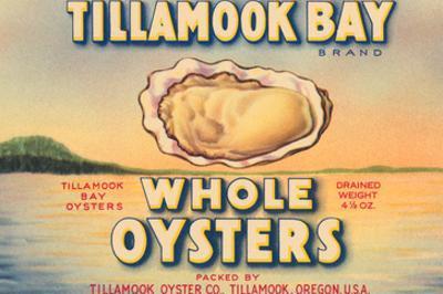 Tillamook Bay Whole Oysters