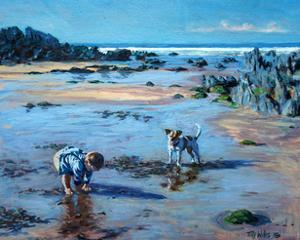 Buddies on the Beach by Tilly Willis