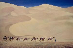 Camel Train by Tilly Willis