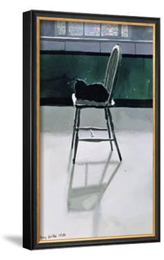 Cat on a Chair by Tilly Willis