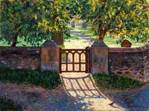 Church Gate, 2012 by Tilly Willis