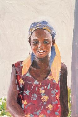 Malagasy Girl, 1989 by Tilly Willis