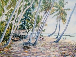 Rustling Palms, Zanzibar, 2002 by Tilly Willis