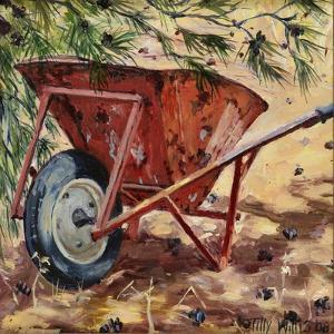 Rusty Wheelbarrow, 2009 by Tilly Willis