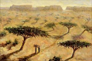 Sahelian Landscape, 2002 by Tilly Willis