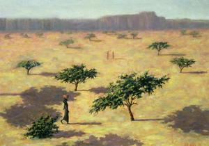 Sahelian Landscape, Mali, 1991 by Tilly Willis