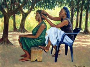 The Hairdresser, 2001 by Tilly Willis