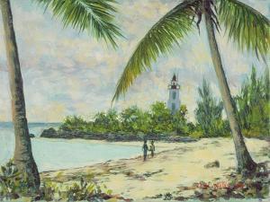 The Lighthouse, Zanzibar, 1995 by Tilly Willis