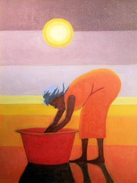 The Red Bucket, 2002 by Tilly Willis