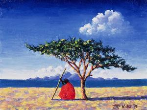 Under the Acacia Tree, 1991 by Tilly Willis