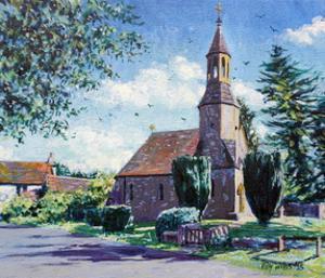 Village Church by Tilly Willis