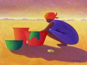 Washer Woman, 1999 by Tilly Willis