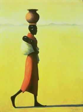 Woman Walking, 1990 by Tilly Willis